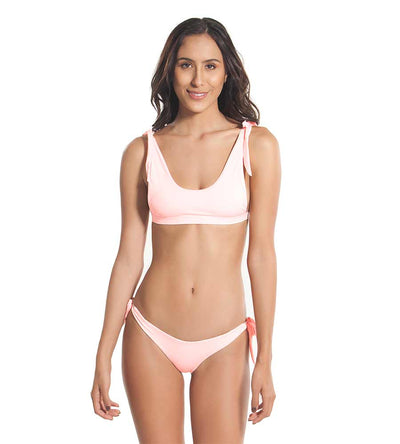PINK TAN KNOT A DREAM BIKINI BOTTOM KAYOKOKO KK-504B-PTN