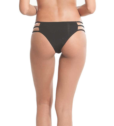 b8fa98df53b7e OFF BLACK LOST LUV BIKINI BOTTOM BY KAYOKOKO - Kayokoko Swimwear USA