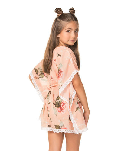 KOHARU IRIS GIRLS TUNIC AGUA BENDITA AN4000418-1