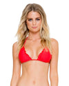 GIRL ON FIRE COSITA BUENA WAVEY TRIANGLE TOP LULI FAMA L17601-417