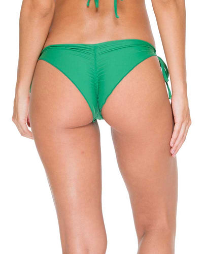 PALMAS COSITA BUENA WAVY RUCHED BRAZILIAN TIE SIDE BOTTOM LULI FAMA L17602-426