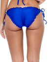 ELECTRIC BLUE COSITA BUENA RUCHED FULL TIE SIDE BOTTOM LULI FAMA L17602F-340