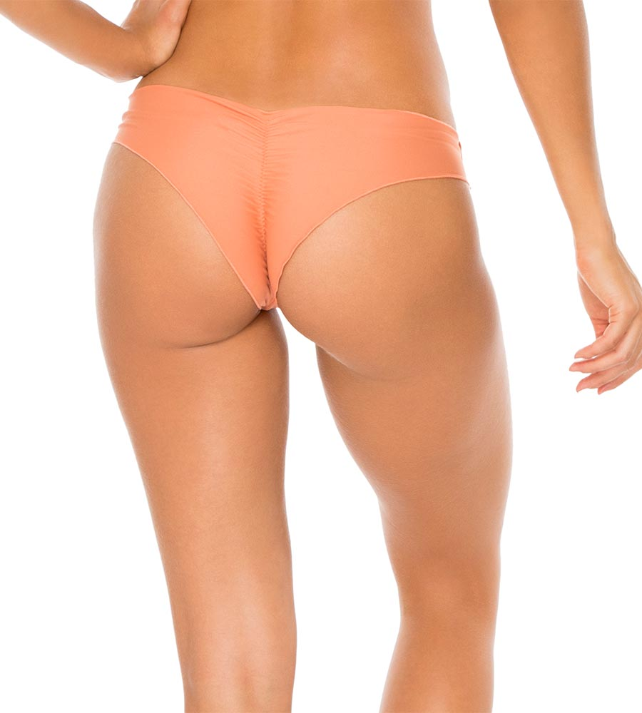 AZAFRAN COSITA BUENA RUCHED BACK BOTTOM BY LULI FAMA