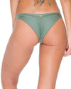 ARMED AND READY COSITA BUENA STRAPPY BRAZILIAN RUCHED BACK BOTTOM LULI FAMA L17620-431