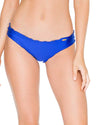 ELECTRIC BLUE COSITA BUENA FULL RUCHED BACK BOTTOM LULI FAMA L176521-340