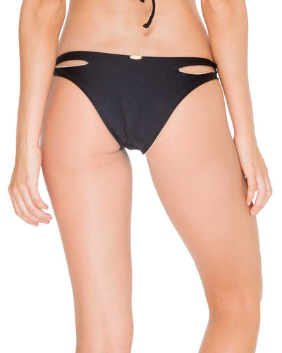 BLACK COSITA BUENA REVERSIBLE ZIG ZAG MODERATE BOTTOM LULI FAMA L176551-001