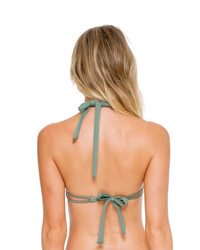 ARMED AND READY COSITA BUENA TRIANGLE HALTER TOP LULI FAMA L17673-431