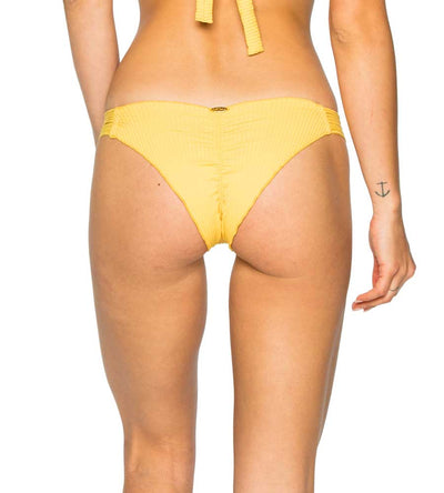 BANANA COSTA DEL SOL STRAPPY BRAZILIAN RUCHED BOTTOM LULI FAMA L50020-476