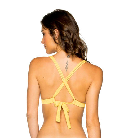 BANANA COSTA DEL SOL PUSH UP HALTER TOP LULI FAMA L500M65-476