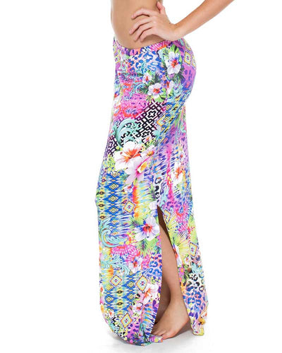GUAJIRA SUPERSTAR BRUNCHIN SKIRT LULI FAMA L532667-111