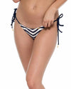 MARINO EL MALECON BRAIDED WAVEY TIESIDE RUCHED BACK FULL BOTTOM LULI FAMA L5362FZ-446