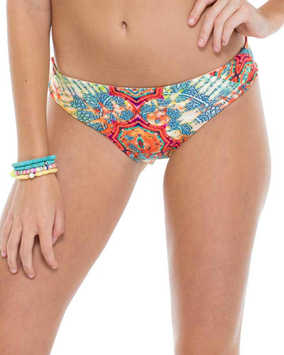 LA BELLA DE CUBA SEAMLESS RUCHED BACK FULL BOTTOM LULI FAMA L54252P-111