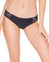 BLACK EL CARNAVAL CROCHET FULL BOTTOM LULI FAMA L543622-001