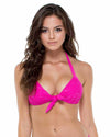 FUCHSIA EL CARNAVAL LOLA MOLDED PUSH UP TOP LULI FAMA L543M51-022