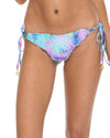 PALMARES CRYSTAL WAVY RUCHED BRAZILIAN TIE SIDE BOTTOM LULI FAMA L54602-111