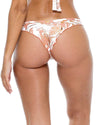 AMOR TABACO Y RON STRAPPY BRAZILIAN RUCHED BACK BOTTOM LULI FAMA L55420-450