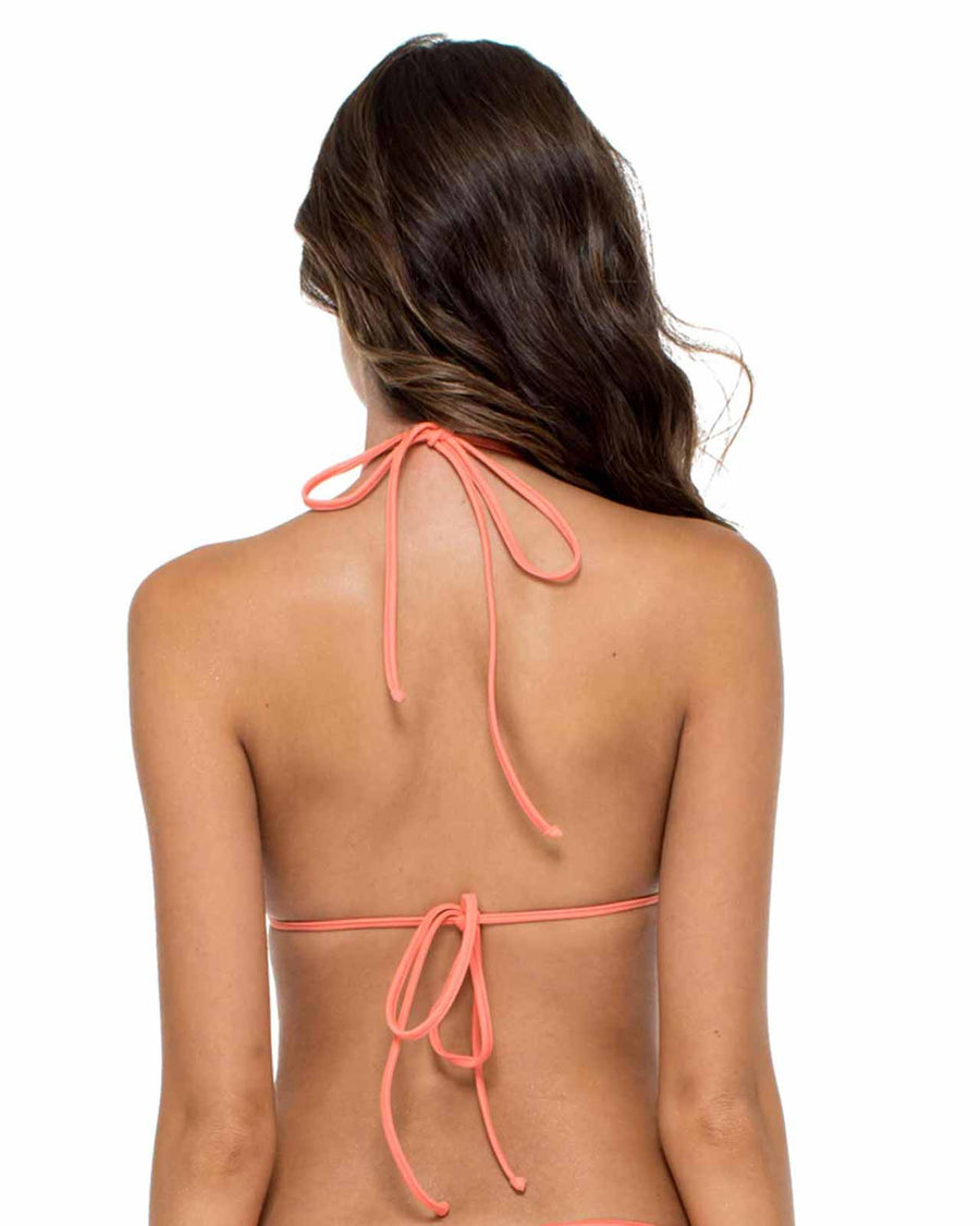 GUAGUANCO STRINGS TO BRAID HALTER TOP LULI FAMA L555200-444
