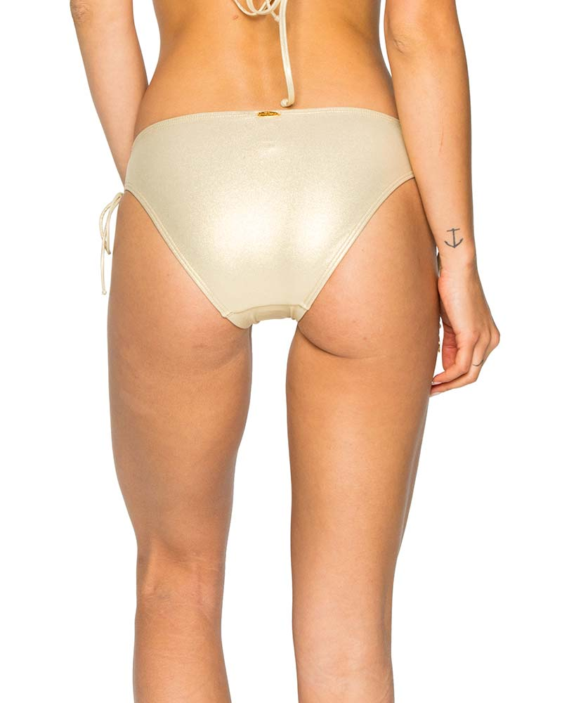 GOLD RUSH LA CORREDERA INTERLACED FULL BOTTOM BY LULI FAMA