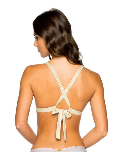 LOS FLAMENCOS PUSH UP HALTER TOP LULI FAMA L577M65-111