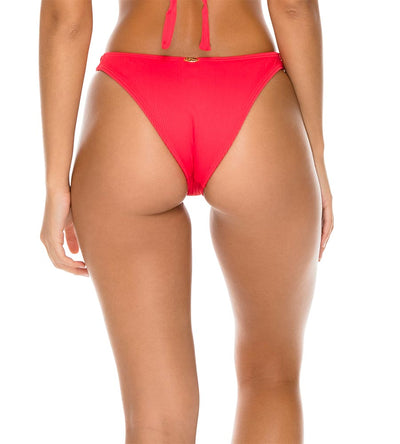 ROJO TRIANA HIGH LEG BRAZILIAN BOTTOM LULI FAMA L596N49-483