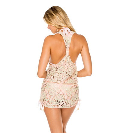 GITANA T BACK MINI DRESS LULI FAMA L612979-111
