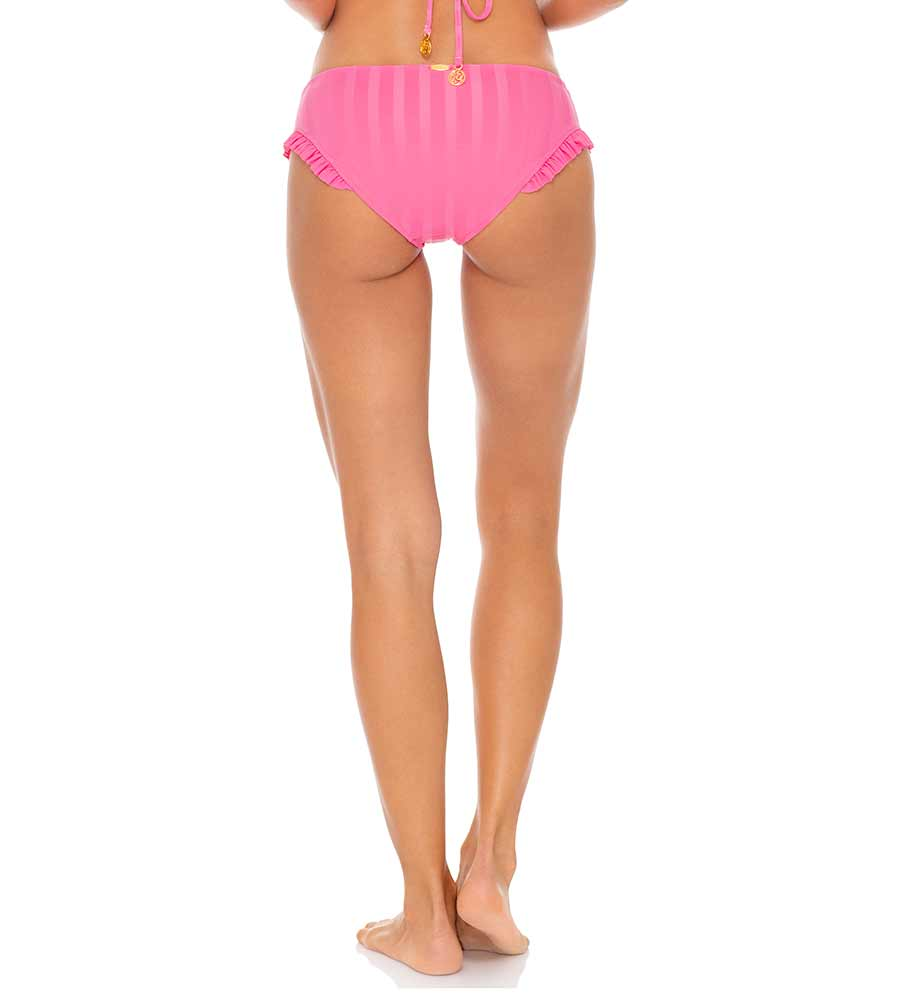 PARTY PINK BACHELORETTE AND HER BABES RUFFLE FULL BOTTOM BY LULI FAMA