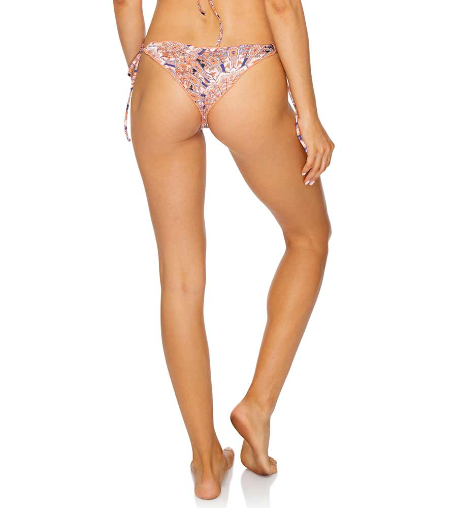 LA REINA DEL SUR RUCHED BRAZILIAN TIE SIDE BOTTOM LULI FAMA L62602P-111