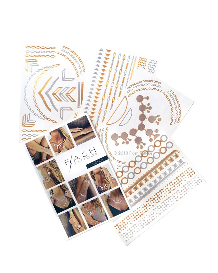 LENA FLASH TATTOOS FT005