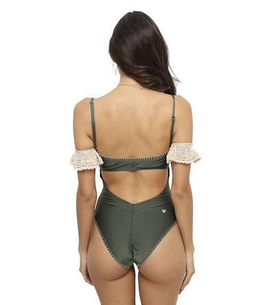 LEONOR GREEN ONE PIECE CAPITTANA LEONORG