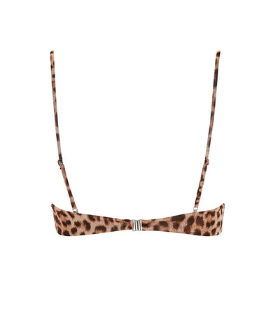 LEOPARD START ME UP DEMI BRA TOP MONICA HANSEN MHB-70LP