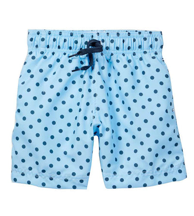 LIGHT BLUE FOCAL POINT SWIM SHORTS AZUL 209-LB