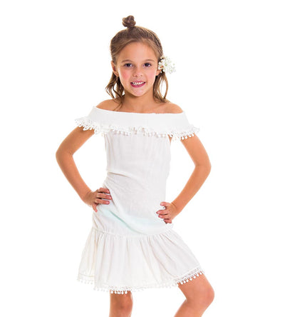 LILAC GIRLS DRESS MILONGA LILKC1