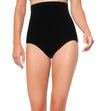 LIVE IN COLOR BLACK CONTROL SUPER HIGH WAIST BOTTOM ANNE COLE 21MB36401-BLK