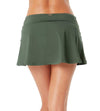 LIVE IN COLOR ISLAND GREEN CLASSIC ROCK SWIM SKIRT ANNE COLE 21MB40001-ISGR