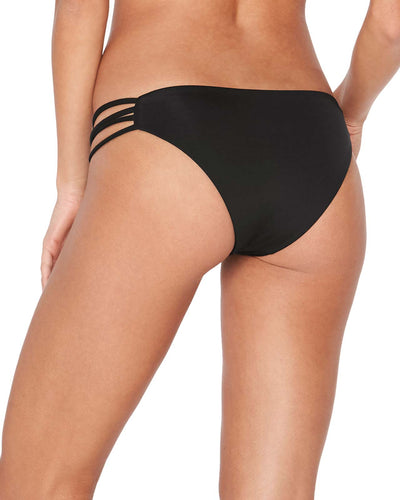 SENSUAL SOLIDS BLACK LOW DOWN BOTTOM LSPACE LS28C16-BLK