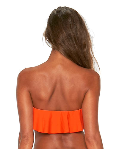 POPPY SENSUAL SOLIDS LYNN TOP LSPACE LSLYT18-POP