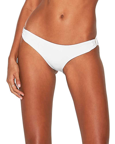 WHITE SENSUAL SOLIDS ROSEMARY BOTTOM LSPACE LSRMB18-WHT