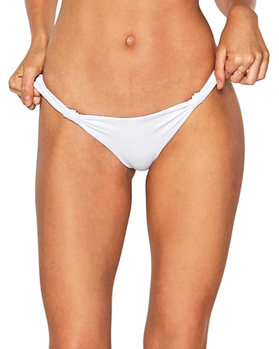 WHITE THE BLONDE ABROAD SUNDROP BOTTOM LSPACE LSSPB18-WHT
