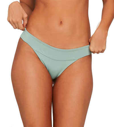 REEF GREEN SENSUAL SOLIDS VERONICA BOTTOM LSPACE LSVEC17-RFG