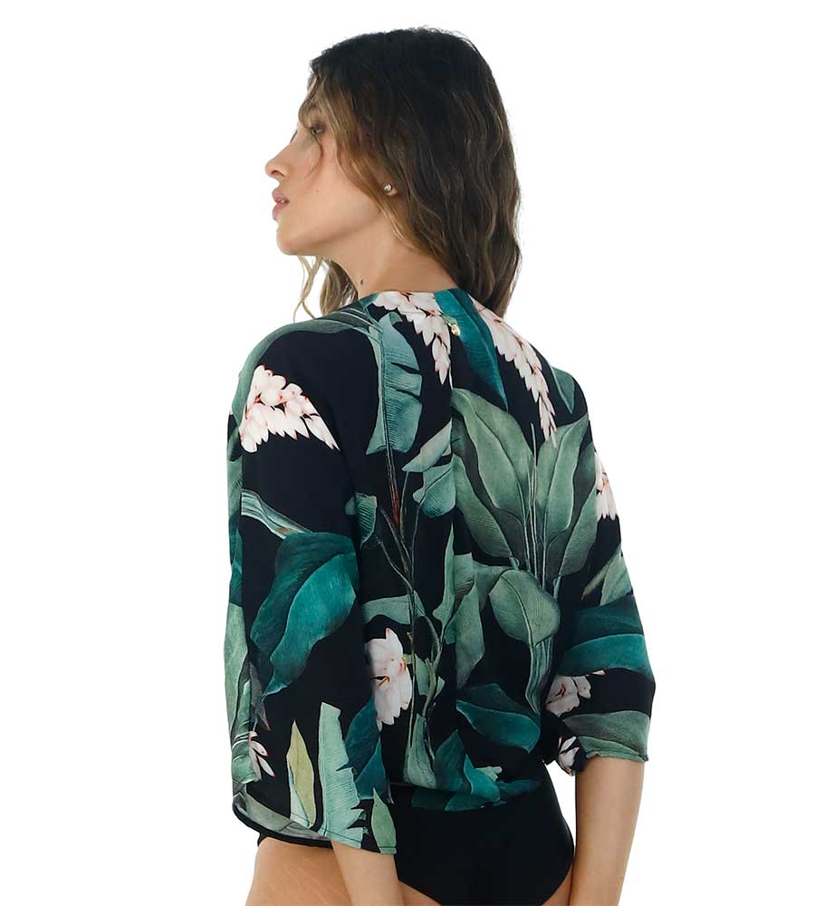 LUSH BLOOM WILLOW SHIRT BY MALAI