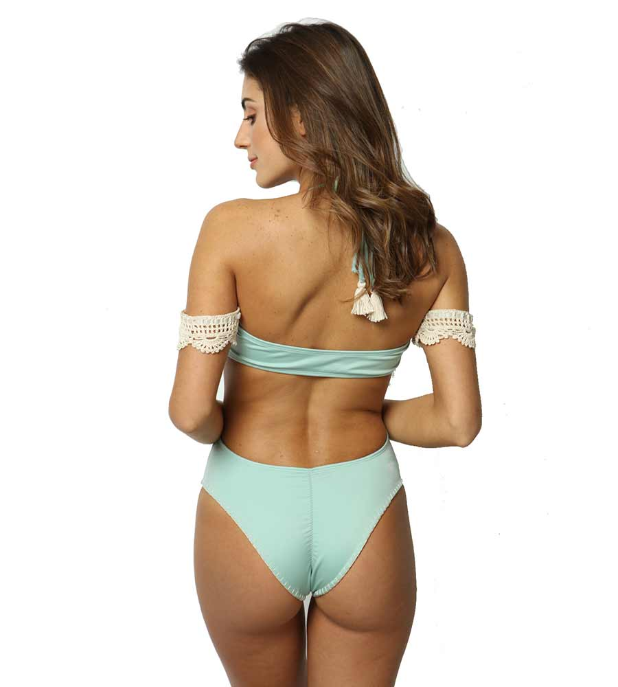 MAYA LIGHT BLUE ONE PIECE BY CAPITTANA
