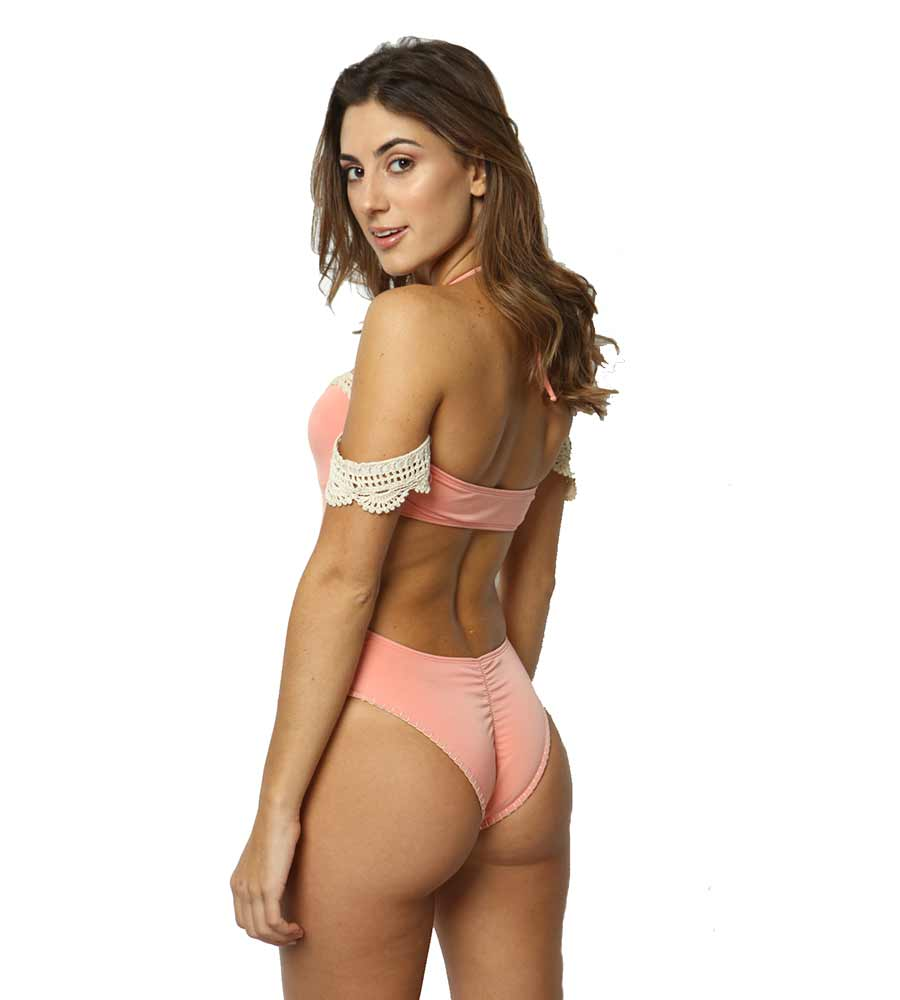 MAYA PINK ONE PIECE BY CAPITTANA