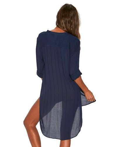 MIDNIGHT BLUE MEGAN COVER UP LSPACE MEGCV18-MDB