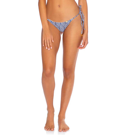 MESMERIZED SEAMLESS RUCHED BRAZILIAN TIE SIDE BOTTOM LULI FAMA L66402P-111