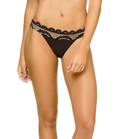 MIDNIGHT LACE BANDED BOTTOM BY PILYQ
