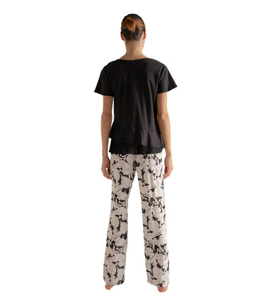 MIDNIGHT BLOOMS LONG PANT PAJAMA SET TOUCHE 2598011