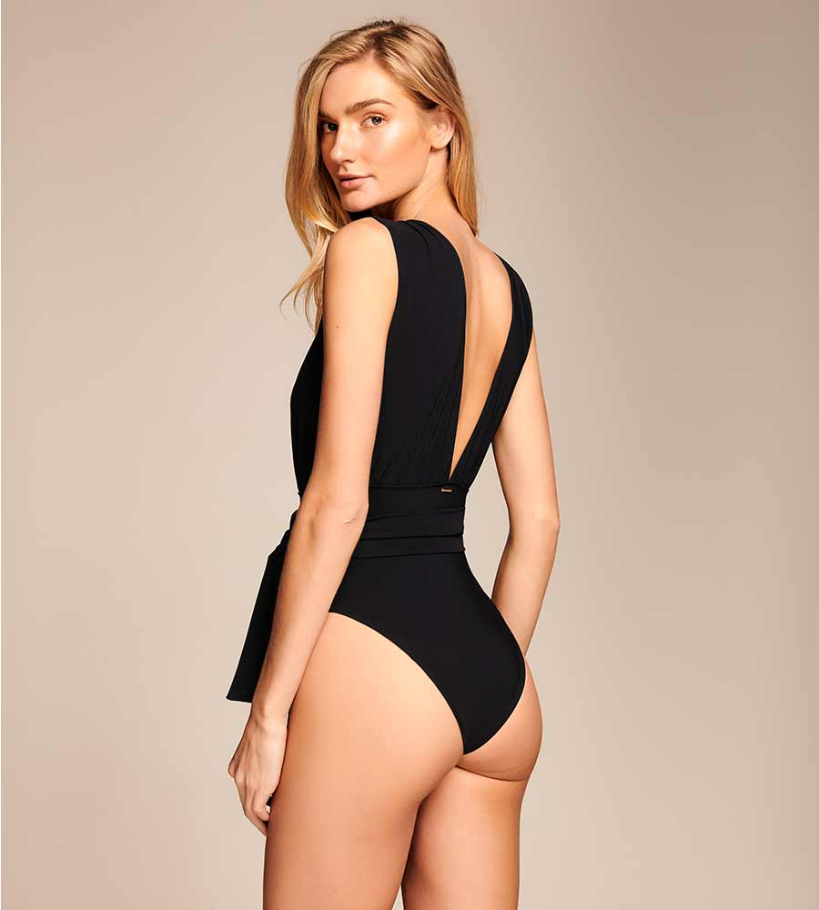 MIDNIGHT SKY PLUNGE ONE PIECE BY TOUCHE