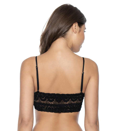 MIDNIGHT SWEETHEART LACE BRALETTE TOP PILYQ MID-360B