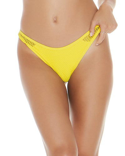 MESH MADNESS CANARY YELLOW STEVIE BOTTOM LSPACE MMSTB18-CAY