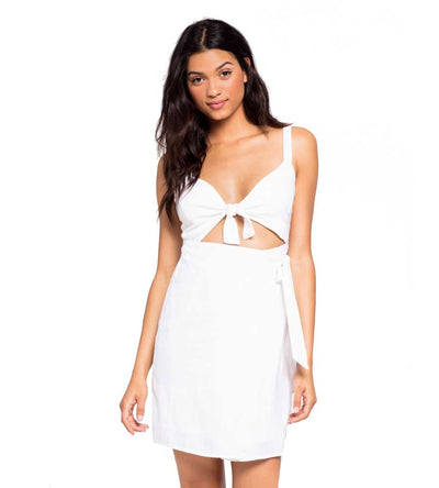 WHITE MORNING STAR DRESS LSPACE MORDR19-WHT